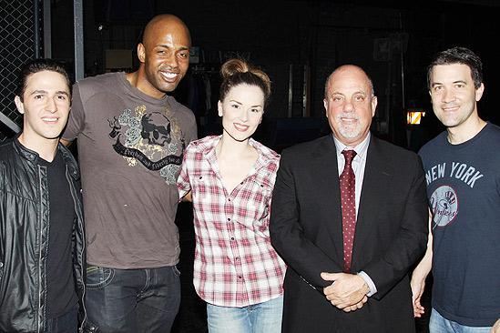Billy Joel at Jersey Boys – Russell Fischer – Kris Coleman – Katie O'Toole – Billy Joel – Miles Aubrey