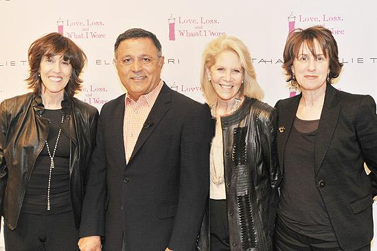 Love Loss Tahari Party – Nora Ephron – Eli Tahari – Daryl Roth – Delia Ephron