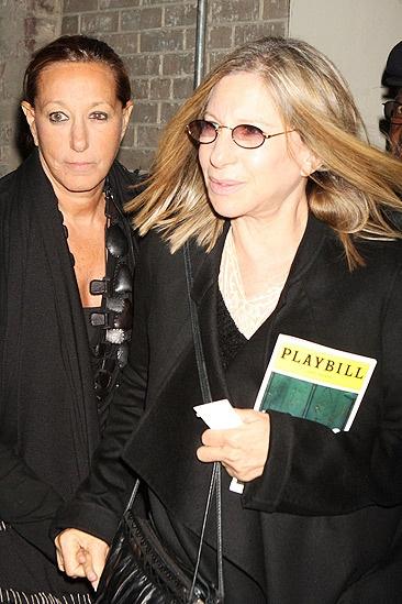 Barbra Streisand at Fences – Barbra Streisand – Donna Karan