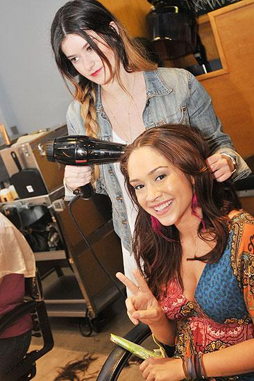 Hair Event at Bumble and Bumble – Diana DeGarmo