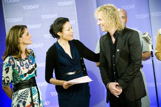 Memphis on Today Show – Natalie Morales – Ann Curry – David Bryan