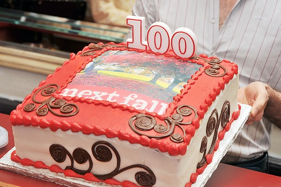 Next Fall 100 Performance - cake