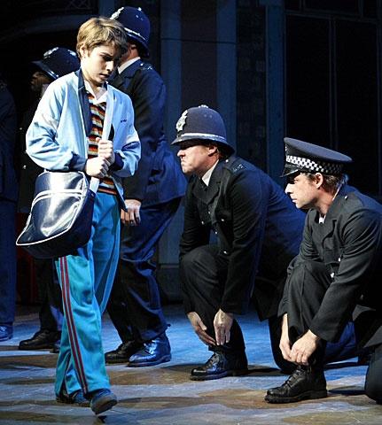 Billy Elliot - Show Photo - Kiril Kulish (cops)