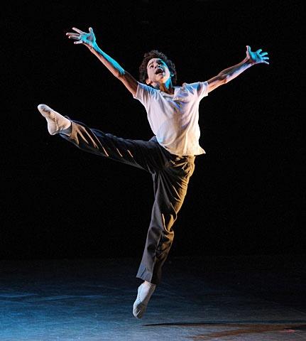 Billy Elliot - Show Photo - David Alvarez (dancing)