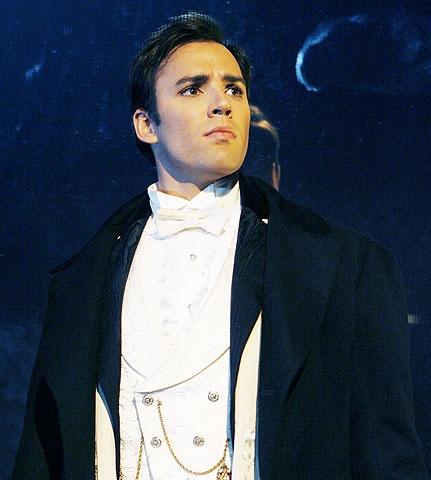 The Phantom of the Opera - Show Photo - Ryan Silverman
