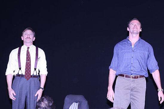 A Steady Rain Opening - 1 - Daniel Craig - Hugh Jackman Curtain Call