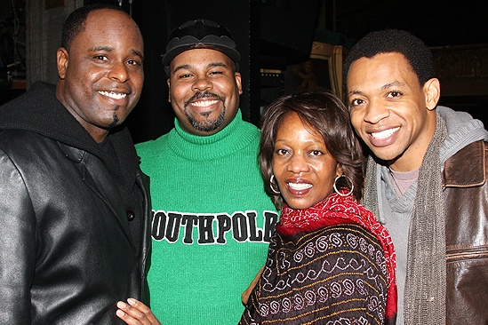 Alfre Woodard at Memphis - 3 - J. Bernard Calloway - James Monroe Iglehart - Alfre Woodard - Derrick Baskin