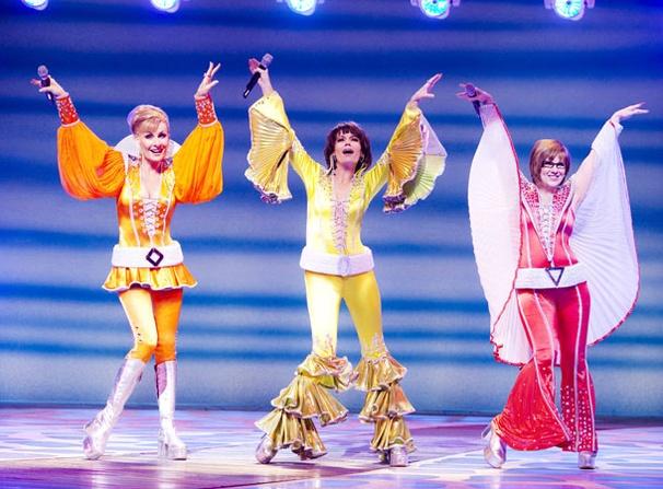Mamma Mia - Show Photos - Judy McLane - Beth Leavel - Allison Briner (colors)