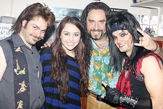 Miley Cyrus at Rock of Ages – Mitchell Jarvis – Miley Cyrus - Adam Dannheisser -Jeremy Jordan