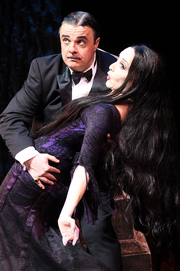Addams Family Chicago opening – cc – Nathan Lane – Bebe Neuwirth