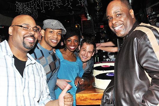 Memphis 100th Performance - James Monroe Iglehart - Derrick Baskin - Montego Glover - Chad Kimball - J. Bernard Calloway