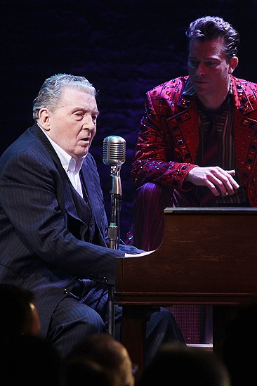 Million Dollar Quartet Photo Op – Jerry Lee Lewis – Levi Kreis