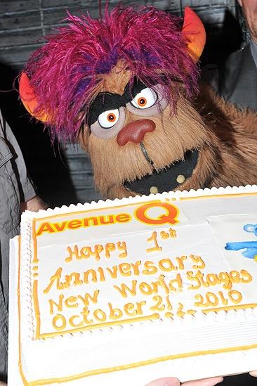 Avenue Q off bway anniversary – Trekkie Monster