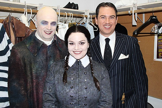addams family at halloween parade roger clark tara lynn wagner pat kiernan