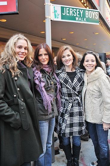 Jersey Boys Fifth Anniversary – Jessica Rush – Bridget Berger – Katie O'Toole – Sara Schmidt