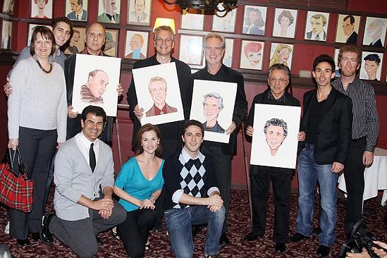 Jersey Boys at Sardi's – group shot