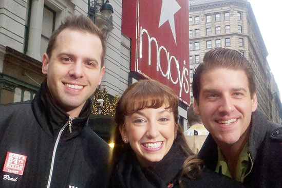 Memphis at Macy's Thanksgiving Day Parade – Brad Bass – Hilary Elk – Brian Langlitz