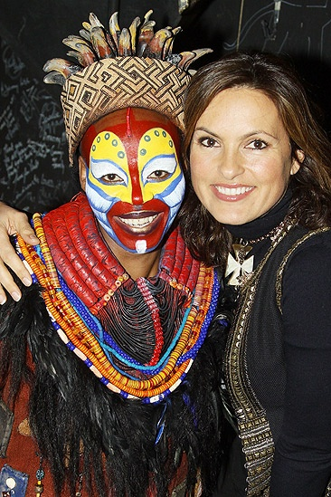 Mariska Hargitay at The Lion King – Mariska Hargitay – Tshidi Manye