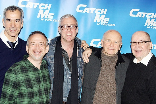 Catch Me If You Can First Rehearsal – Jerry Mitchell – Marc Shaiman – Scott Wittman – Terrence McNally – Jack O'Brien