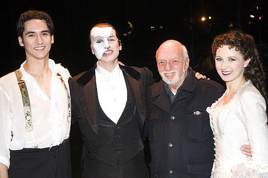 Phantom of the Opera 23rd Anniversary – Sean MacLaughlin – Hugh Panaro – Harold Prince – Sara Jean Ford