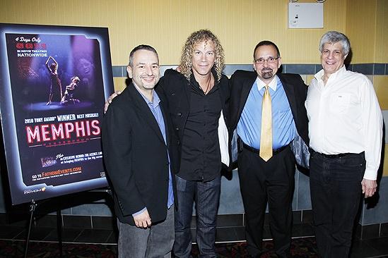 Memphis movie premiere – Joe DiPietro – David Bryan – Dan Diamond – Bruce Brandwen