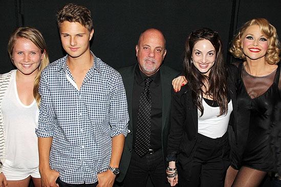 Billy Joel at Chicago – Jack Cook – Christie Brinkley – Sailor Cook – Alexa Ray Joel – Billy Joel