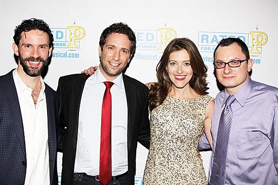 Rated P For Parenthood – Opening Night – Jeremy Dobrish – David Rossmer – Sandy Rustin – Dan Lipton