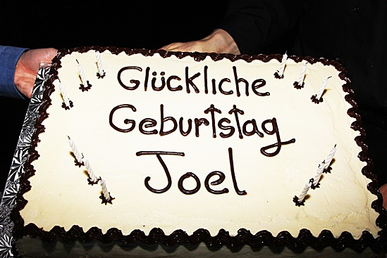 Anything Goes - Joel Grey Sleep No More Birthday – cake