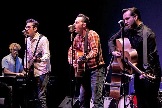 Million Dollar Quartet - Austin preview - Colte Julian - Dan Mills - Steve Benoit - Robert Shaw