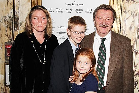 Harvey - Opening Night – Tracey Bryggman – kids - Larry Bryggman