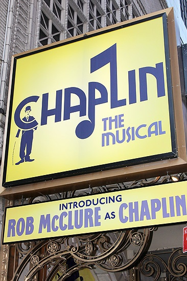 Chaplin – Opening Night – marquee