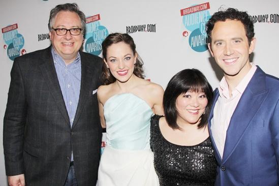 2013 Audience Choice Awards- Douglas Carter Beane- Laura Osnes- Ann Harada- Santino Fontana