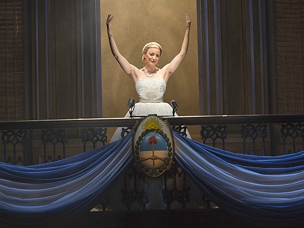 Show Photos - Evita - tour - Caroline Bowman