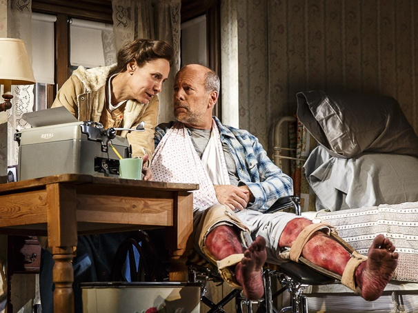 Show Photos - Misery - 10/15 - Laurie Metcalf - Bruce Willis
