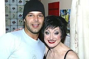 Pop Stars at Chicago - Ricky Martin - Caroline O'Connor