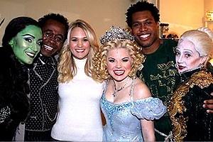 Carrie Underwood at Wicked - Eden Espinosa - Ben Vereen - Carrie Underwood - Megan Hilty - Derrick Williams - Carole Kane