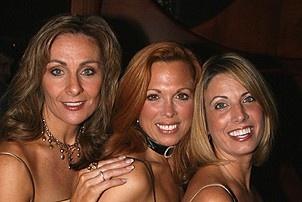 Photo Op - Mamma Mia! Fifth Anniversary - Judy McLane - Carolee Carmello -  Lori Haley Fox