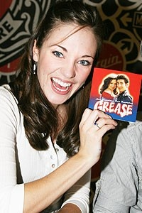 Photo Op - Grease CD signing - Laura Osnes
