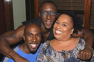 Chicago Michael Hall Party - Eric Jordan Young, Gregory Butler - Roz Ryan