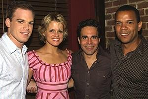 Chicago Michael Hall Party - Michael C. Hall- Amy Spanger - Mario Cantone - Jerry Dixon