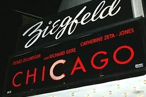 Chicago Movie Premiere - Ziegfeld Marquee