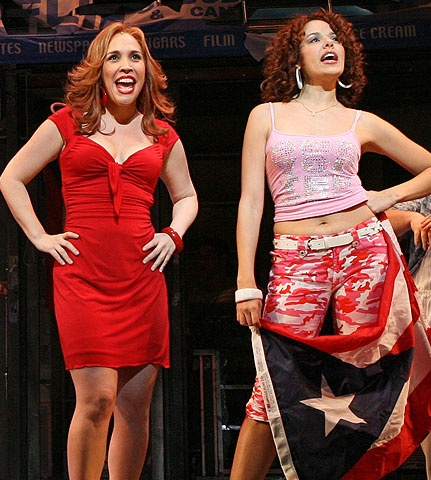In the Heights - Show Photo - Andrea Burns - Janet Dacal