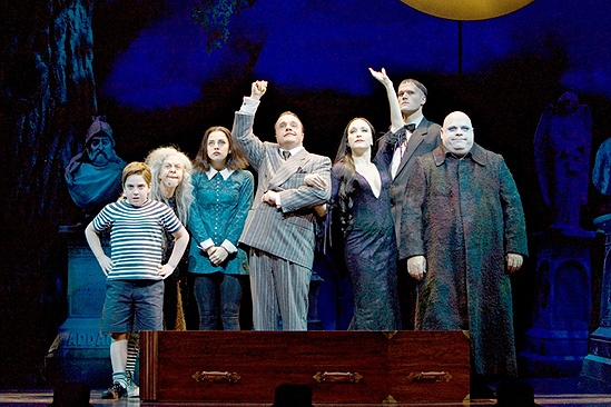 The Addams Family - Show Photos - full cast