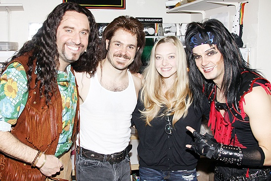 Amanda Seyfried and Dominic Cooper at Rock of Ages - Adam Dannheisser - Mitchell Jarvis - Amanda Seyfried - Jeremy Woodard