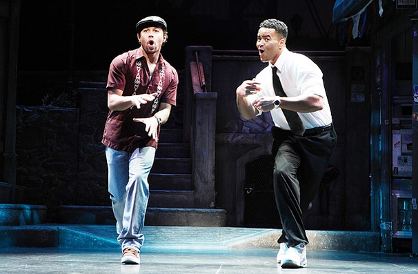 In the Heights - Show Photos - Corbin Bleu - Christopher Jackson