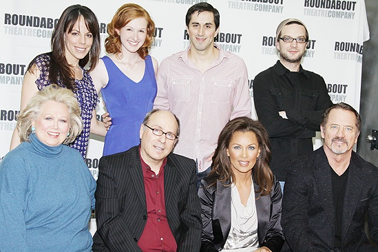 Sondheim on Sondheim Meet and Greet - Barbara Cook - Leslie Kritzer - Erin Mackey - Matthew Scott - Euan Morton - Tom Wopat - Vanessa Williams - James Lapine