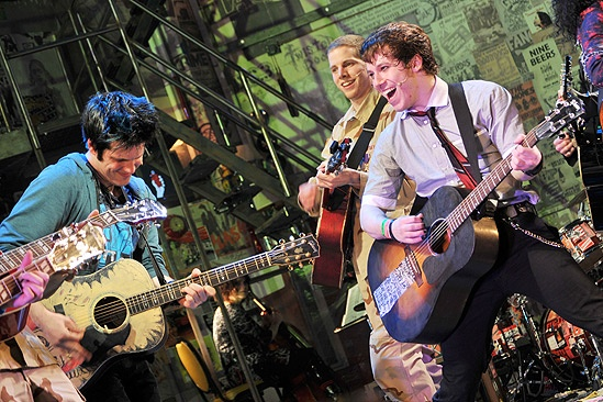 American Idiot Opening – Michael Esper – John Gallagher Jr. – Stark Sands