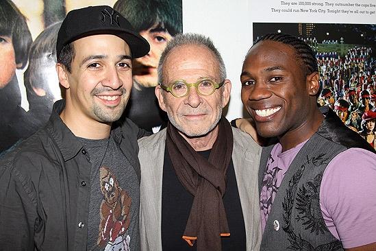 In the Heights Last Show in Los Angeles – Lin-Manuel Miranda – Ron Rifkin – Rogelio Douglas Jr.