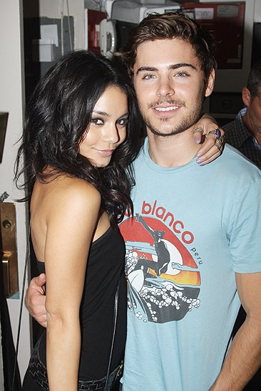 Zac Efron and Vanessa Hudgens at Memphis – Vanessa Hudgens – Zac Efron