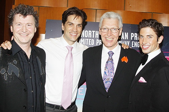Priscilla Opening in Toronto – Simon Phillips – Will Swenson – Tony Sheldon – Nick Adams